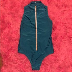 Other - ZipUp Onepiece Swimsuit